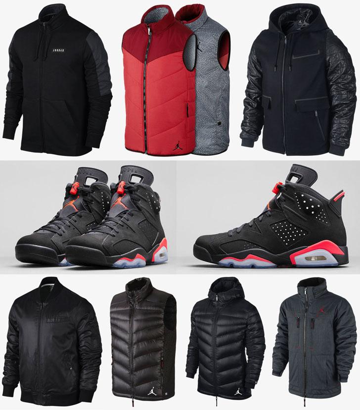 Jordan Jackets To Wear With The Air Jordan 6 Black