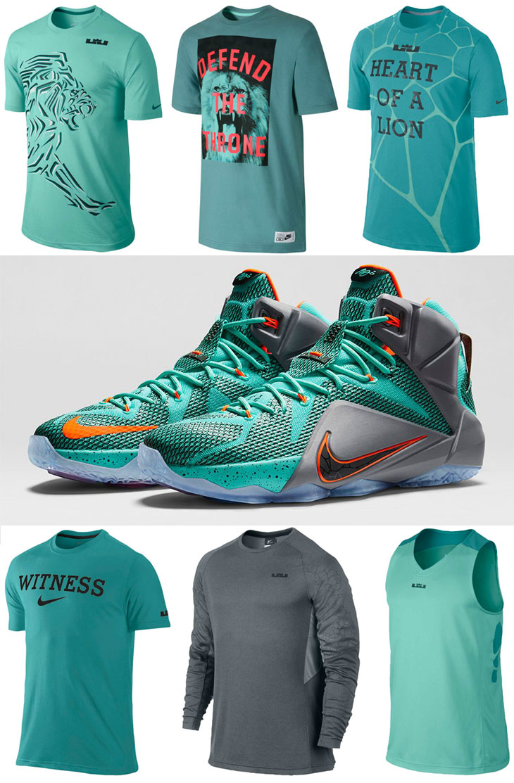 nike lebron shirts to wear with the nike lebron 12 nsrl