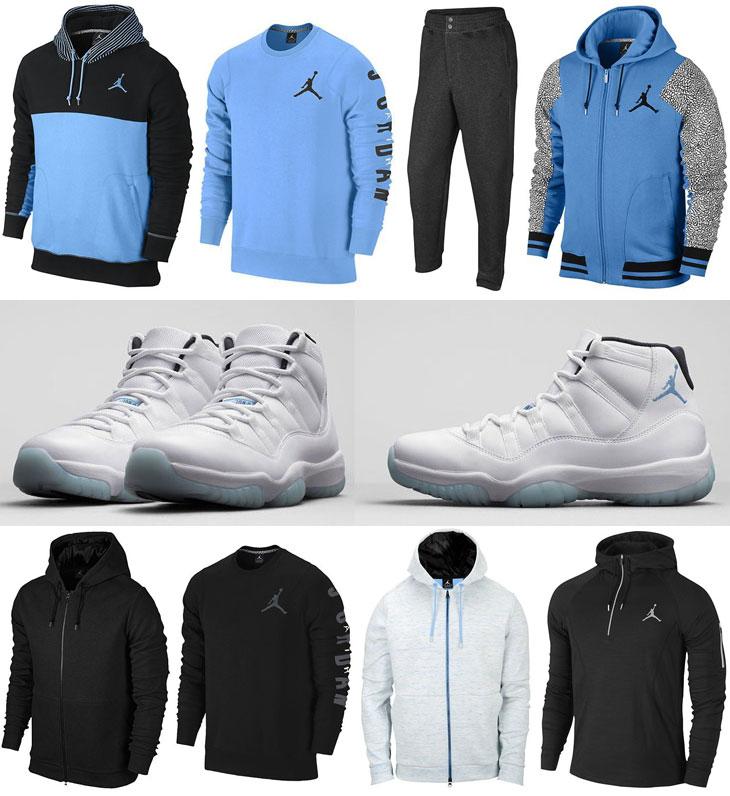 Air Jordan 11 Legend Blue Sweatshirts