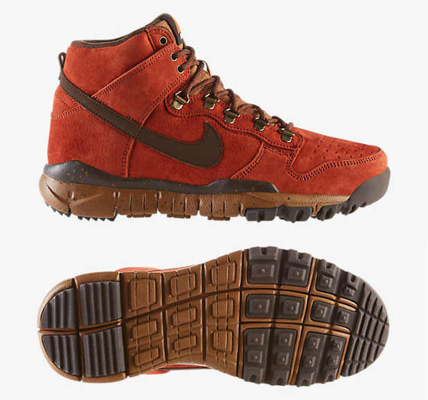 new product 23bc6 64cca Nike Dunk High Winter Rugged Orange Ale Brown Baroque Brown ...