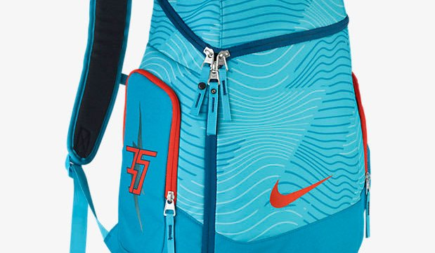c5bf4b323a69 Nike KD Max Air Backpack Clearwater Blue Lagoon Team Orange ...