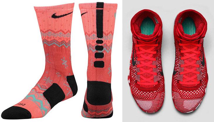 competitive price 60d86 07fdc nike-kobe-9-christmas-knit-stocking-socks