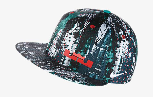 new concept 3eb94 4347f nike-lebron-12-christmas-hat
