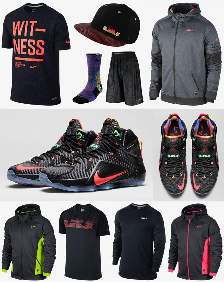 e45f0c53eb3 Nike Lebron 12 Data Clothing Shirts and Shorts