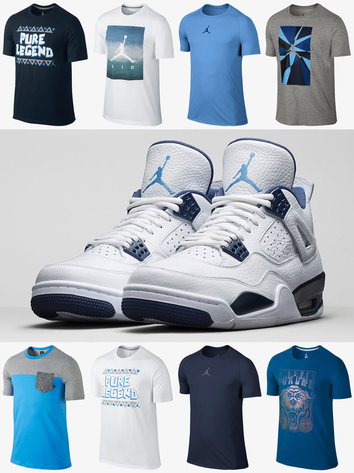 blue jordan outfits