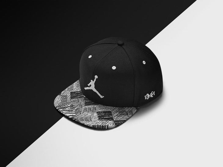 e1bba80a Topping off the 2015 Jordan BHM Collection is this Black History Month  Jordan Brand cap to complement the rest of the range. Decorated with the  same BHM ...