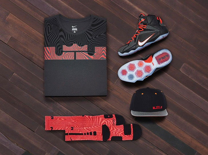 """pretty nice 2a75c 83c8b Nike LeBron 12 """"Court Vision"""" Collection"""
