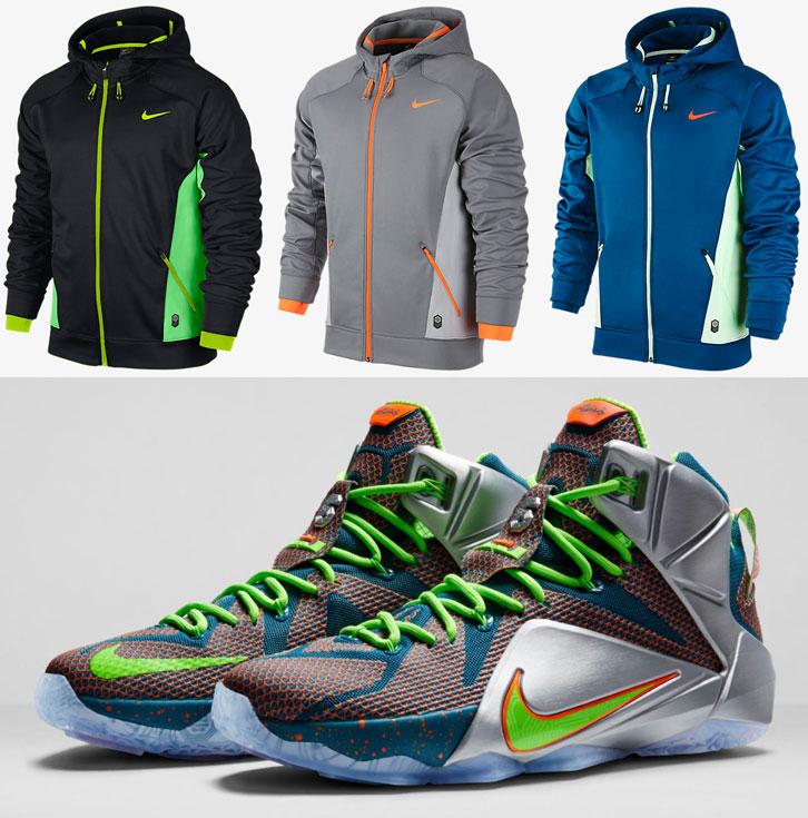 cc5672605374 Nike Hoodies to Wear with the Nike LEBRON 12 Trillion Dollar Man ...