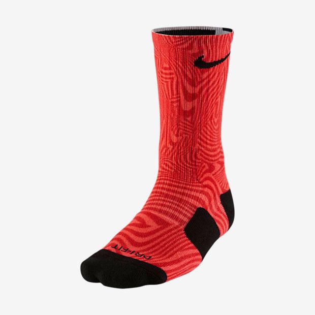 size 40 412be f8326 Nike LeBron Elite Court Vision Socks