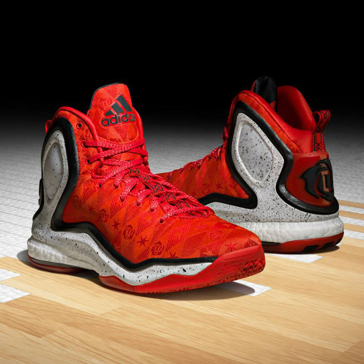 adidas d rose 5 boost alternate away