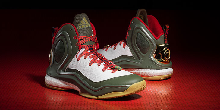 """8db27a80ad0 adidas D Rose 5 """"Year of the Goat"""""""