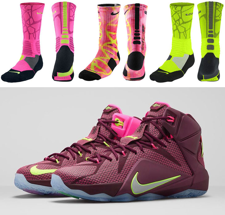 494f5820103 Nike LeBron Socks to Wear with the Nike LeBron 12