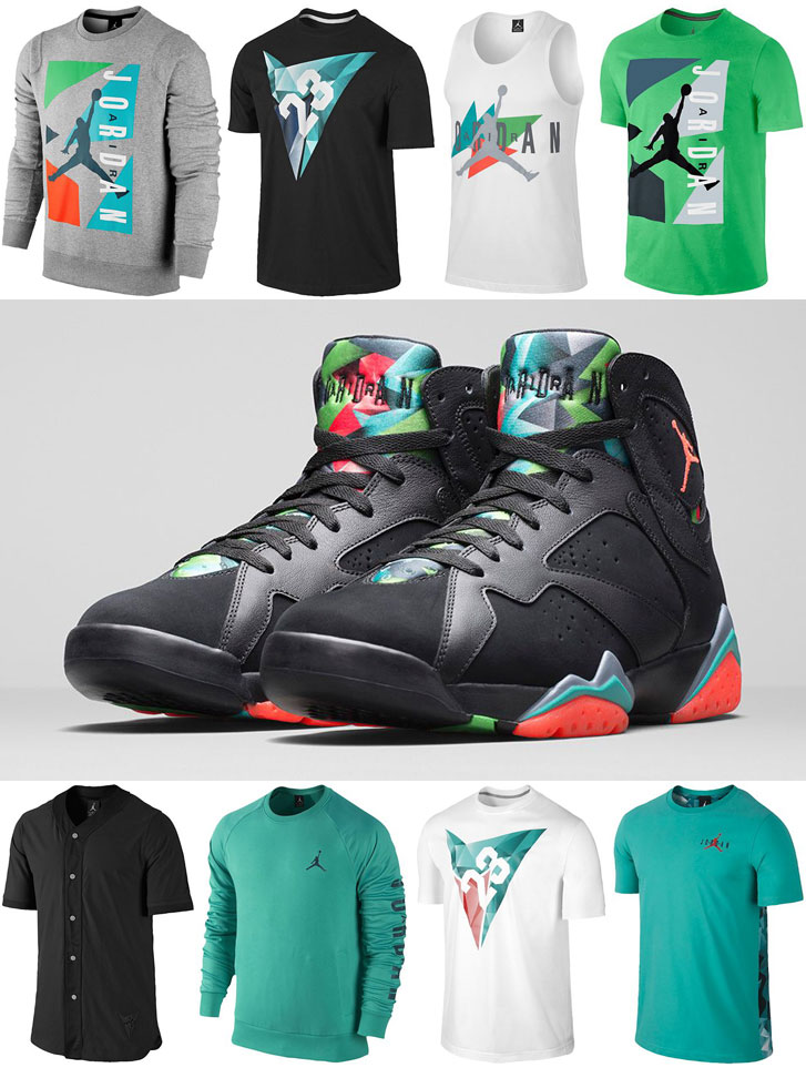 8c48b48ee83f Air Jordan 7 Marvin the Martian 30th Anniversary Shirts