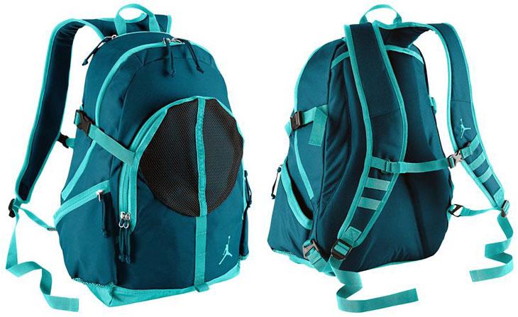 jordan teal backpack