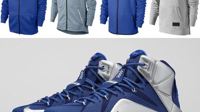 "c88040fffc0b Nike Hoodies to Hook with the Nike LeBron 12 ""What If"""