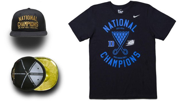 6ef8b27ccd41 Nike Duke Blue Devils 2015 NCAA National Championship Collection