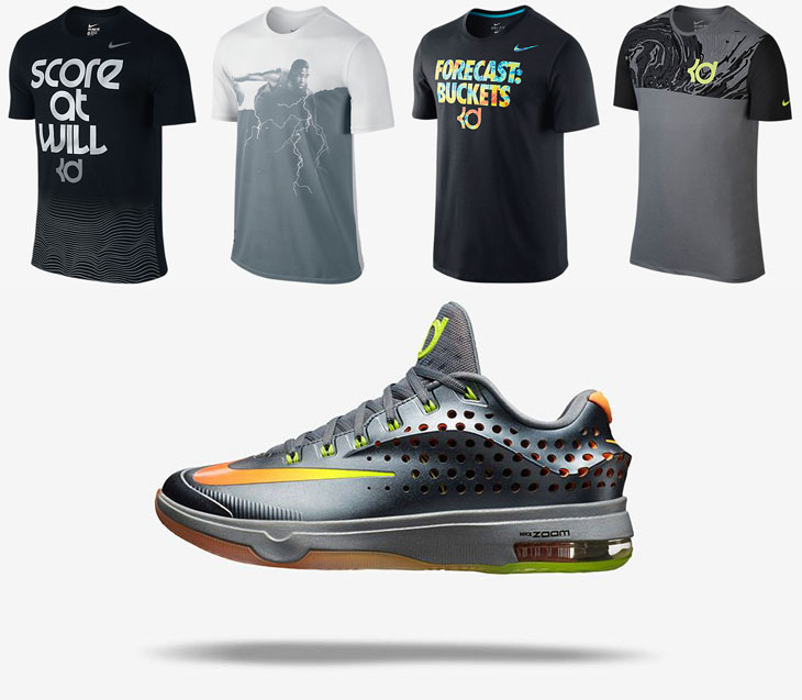 """online retailer dd74c 32884 Nike KD Shirts to Wear with the Nike KD 7 Elite """"Team"""""""