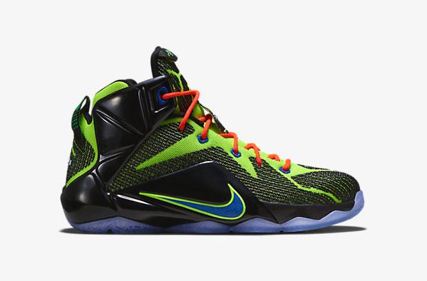 24d0aecabab Nike LeBron 12 Gamer Kids Shoes