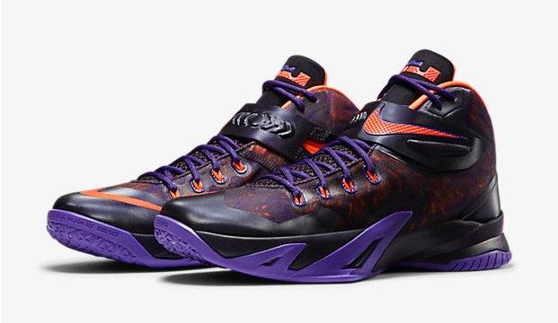 "b9d626b2a2e Nike Zoom LeBron Soldier VIII Premium ""Court Purple"""