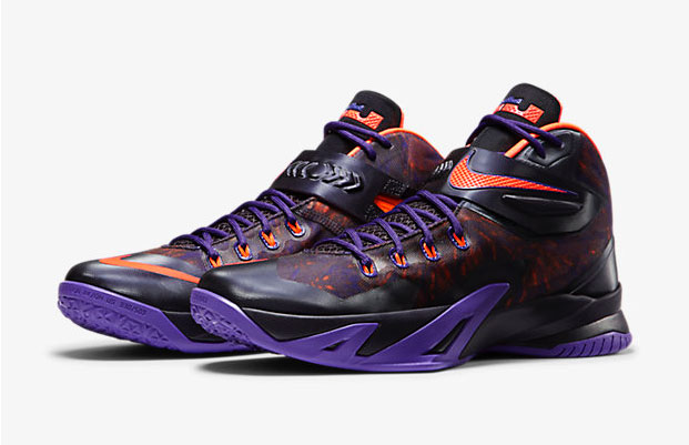 56ee422bd145 Nike Zoom LeBron Soldier 8 Premium Court Purple Hyper Crimson ...