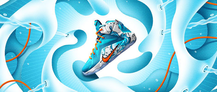 Nike Kids LeBron 12 Buckets Clothing Shoes  75f95f920