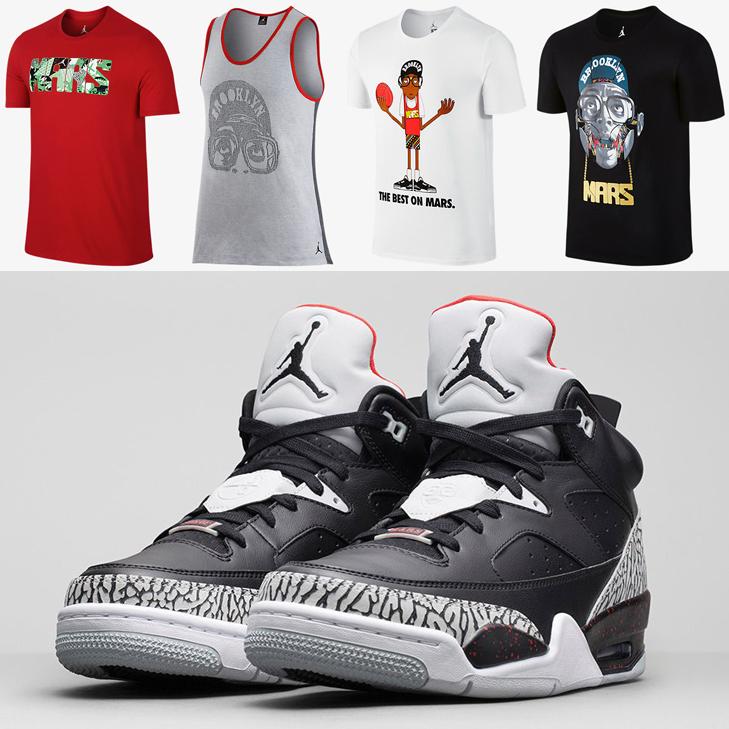 "d33f08f5aa8 Jordan Mars Shirts to Wear with the Jordan Son of Mars Low ""Grey Mist"""