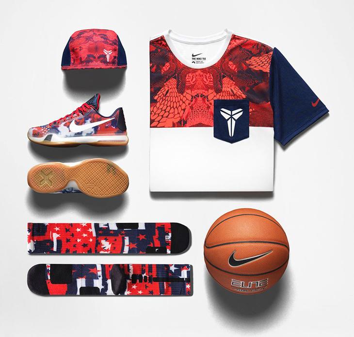 "best loved 3cdb0 cc8b8 Nike Kobe X ""4th of July"" Collection"