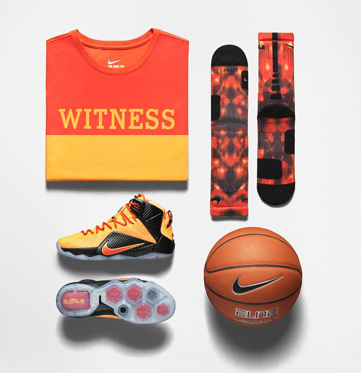 finest selection 2fa73 92afb nike-lebron-12-cleveland-witness-clothing