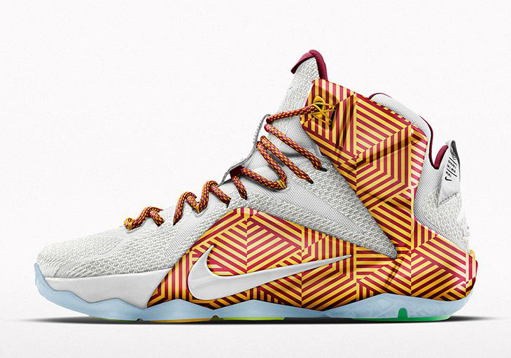 wholesale dealer f6ea3 abe71 Nike LeBron 12 iD Alternate Graphic Now Available on NIKEiD