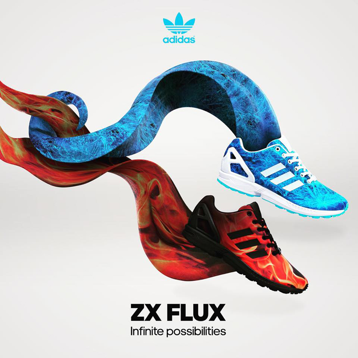 adidas ZX Flux Fire and Ice Pack |