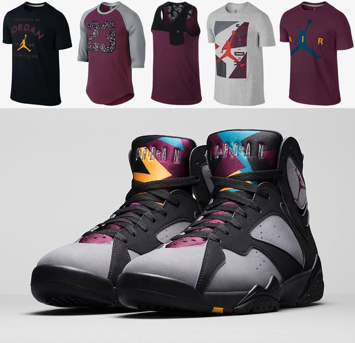 "238ac7320021 7 Jordan Brand Shirts to Wear with the Air Jordan 7 ""Bordeaux"""