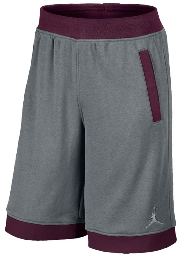 5d8852a155d ... official store jordan bordeaux fleece shorts 6071c 34286