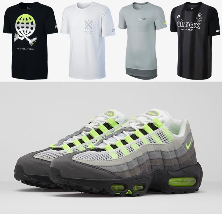 Nike Air Max 95 Og Neon Shirts Sportfits Com