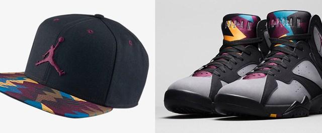 "8f251e62022d Air Jordan 7 ""Bordeaux"" Sneaker Hat"