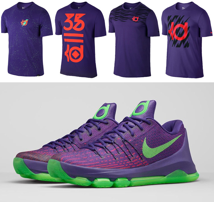 """half off cce6b d9669 Nike KD Shirts to Match the Nike KD 8 """"Suit"""""""