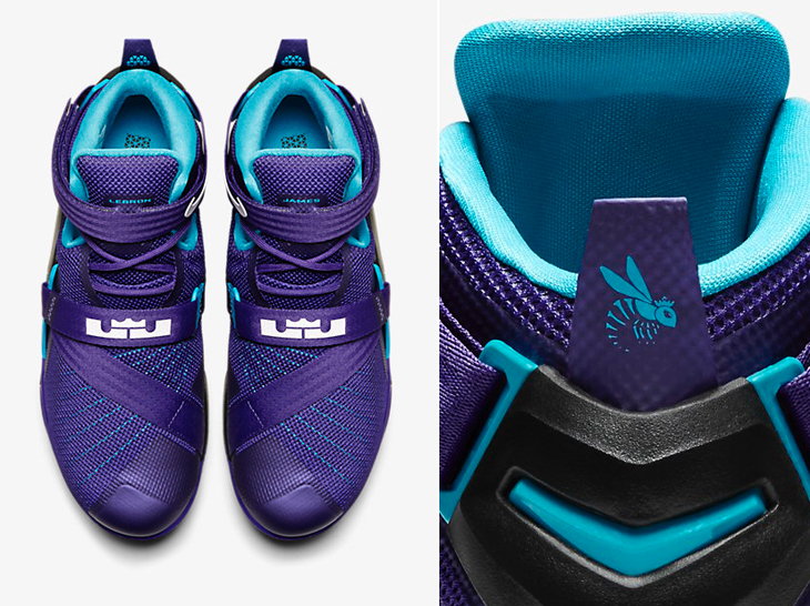 "f590c2cf1e2d Nike Zoom LeBron Soldier 9 ""Summit Lake Hornets"""