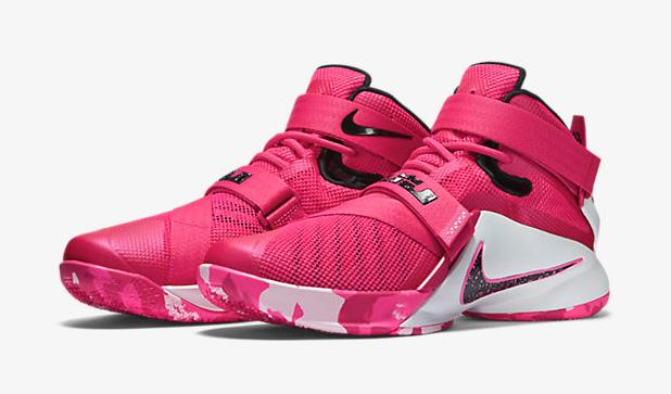 Nike LeBron Soldier 9 Think Pink Kay