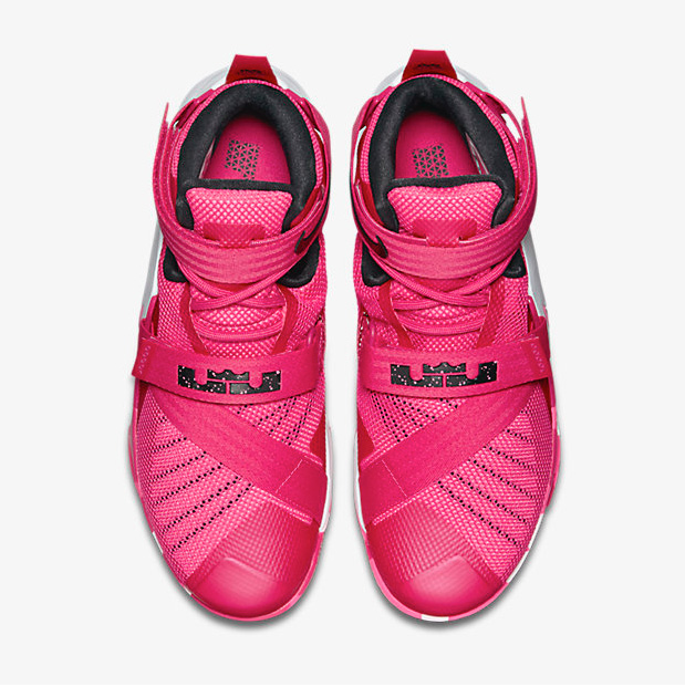 "finest selection 075ea e4a39 Nike LeBron Soldier 9 ""Think Pink"""