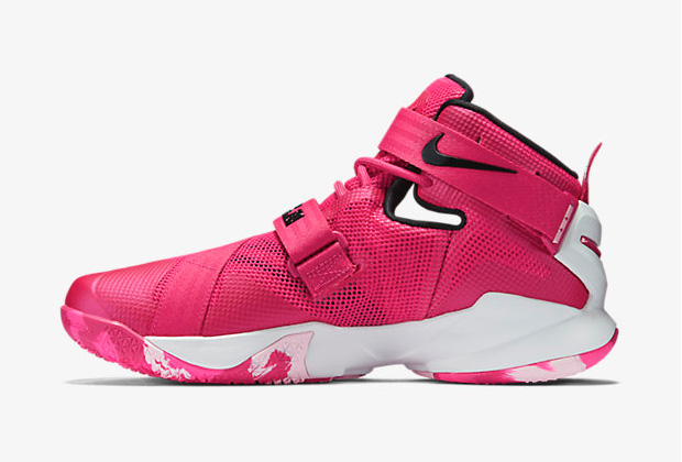 finest selection 8e812 0100c nike-lebron-soldier-9-think-pink-4