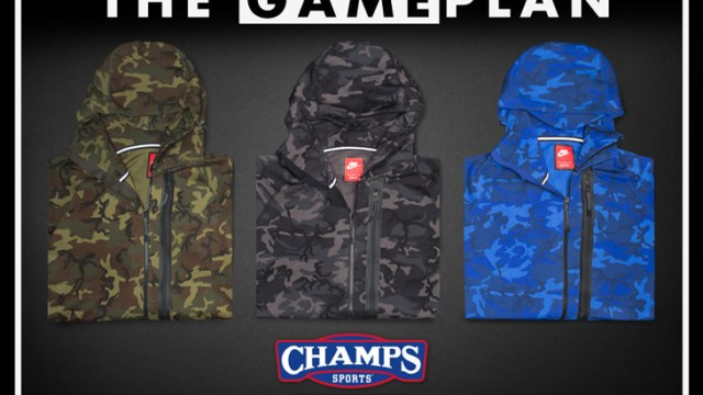 107611910aba The Game Plan By Champs Sports Presents the Nike Tech Fleece Camo ...