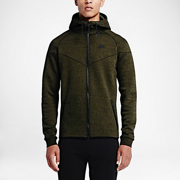 759fade18a07 nike-tech-fleece-windrunner-hoodie-cargo-khaki-1