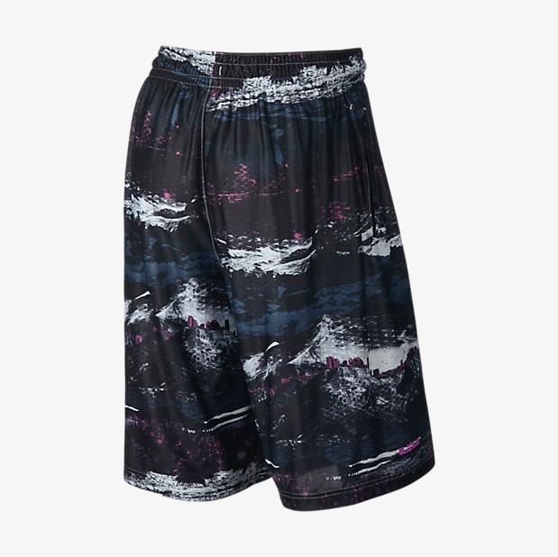 4e29f057ddcb ... real nike lebron 13 ultimate elite shorts purple back b4fe6 25126