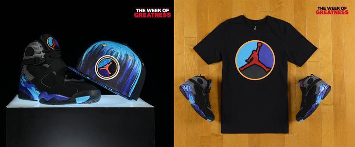 """meet 1bb15 46c59 Air Jordan 8 Retro """"Aqua"""" Apparel Hook-Ups Available at Footlocker"""