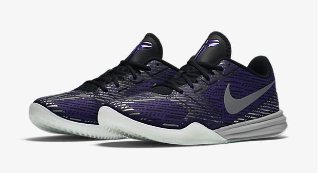 8f07f39970a8 Nike Kobe Mentality Black Court Purple Metallic Silver