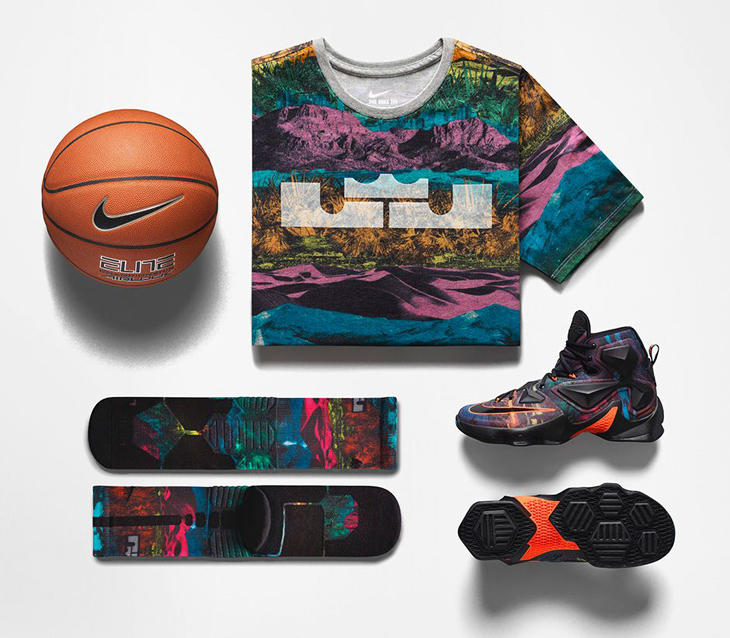 """official photos 23b0f 6075a Nike LeBron 13 """"The Akronite Philosophy"""" Collection"""