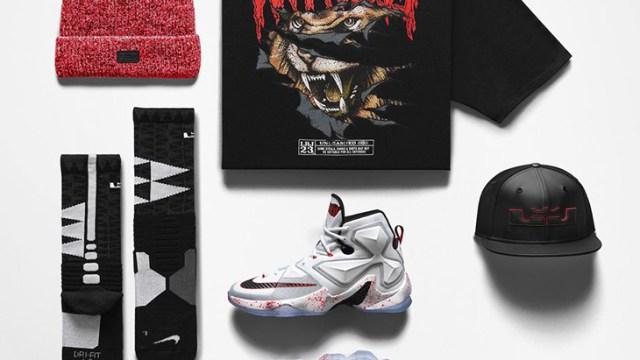 2f673b9c Nike LeBron 13 Friday the 13th Clothing | SportFits.com