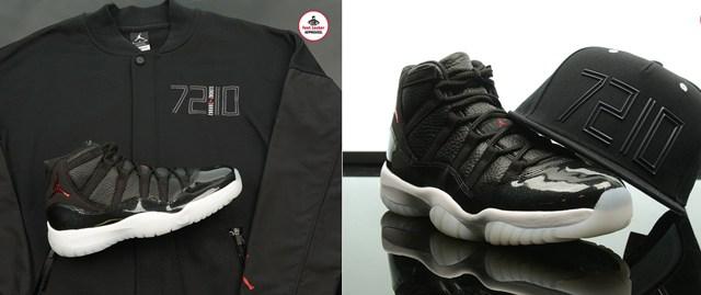 promo code 7ad7c d98a8 Air Jordan 11 72 10 Apparel Hook Ups at Footlocker ...