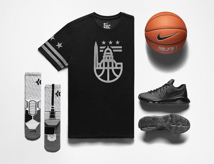 dfafaf6fe12 Nike KD 8 Blackout Triple Black Collection
