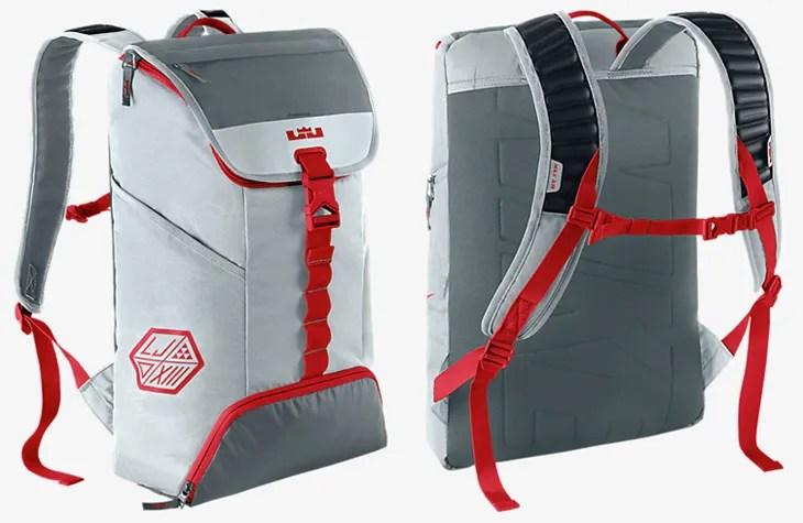 d58ad7b6ad76 Nike LeBron Ambassador Lebron James Red Basketball Backpack