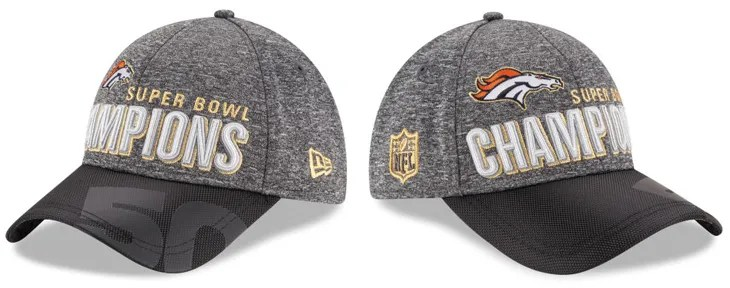 New Era Denver Broncos Super Bowl 50 Champ Cap  c81887d81